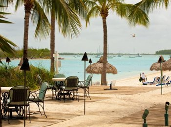 Sandy beaches at The Westin Key West Resort.