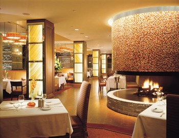 Dining at Four Seasons Resort Whistler.