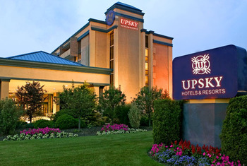 Exterior view of Upsky Long Island Hotel.