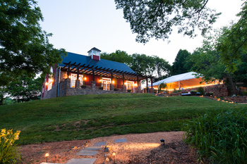 Wedding reception at The Inn at Willow Grove.