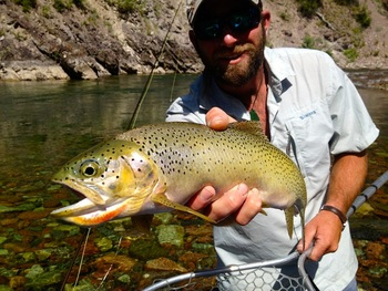 Glacier Outdoor Center is home of Glacier Anglers.  All cabin guests get 10% off rafting and fly fishing trips. Montana is legendary for fly fishing and our rivers are great for beginners as well as pros. Let our courteous guides take you on an unforgettable fly fishing trip on the rivers surrounding Glacier National Park