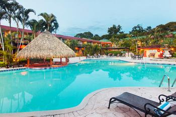 Outdoor pool at Melia Cariari.