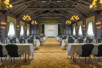 Conference at Fairmont Le Chateau Montebello.