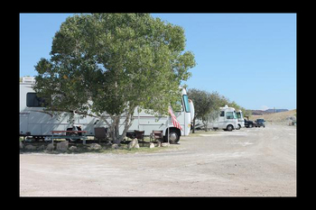 RV campground at Big Bend Resort & Adventures.