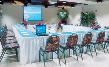 Conference room at Holiday Inn Resort.