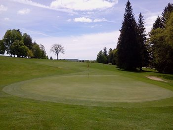 Golf course at Cranwell Resort.
