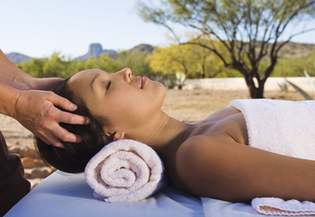 Massages at Rancho De Los Caballeros.