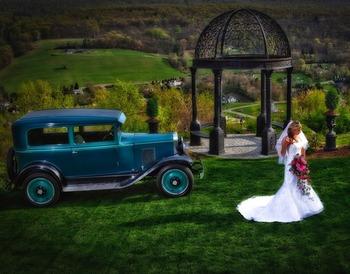 Bride at  Stroudsmoor Country Inn.