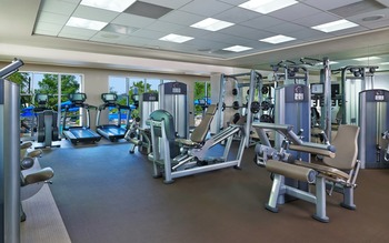 Fitness center at La Cantera Hill Country Resort.