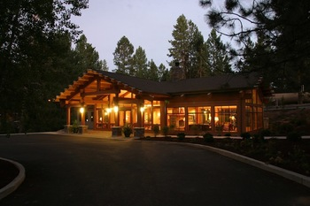 Exterior view of Inn of the Seventh Mountain.