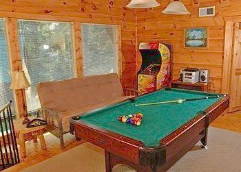 Pool Table at Parkside Resort