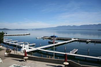 Flathead Lake at the Best Western PLUS KwaTaqNuk Resort