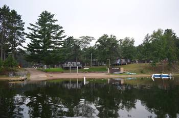 Exterior view of Bay View Lodge.