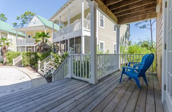 Rental porch at Perdido Key Resort Management.
