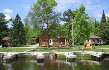 Cabins at Moosehorn Resort.