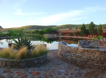 Exterior view of Cibolo Creek Ranch.
