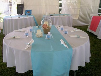 Wedding Table Setup at The Sunset Inn