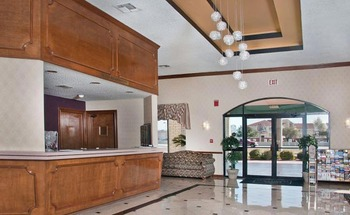Front Desk at Best Western Ingram Park Hotel