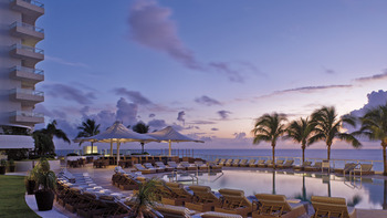 Outdoor pool at The Ritz Carlton, Fort Lauderdale.