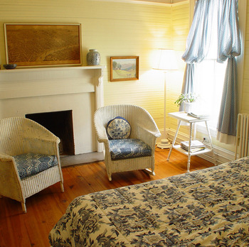 Guest Room at the Balsam Mountain Inn