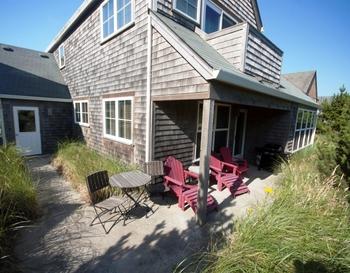 Vacation rental exterior at Shorepine Vacation Rentals.