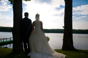 Wedding at Woodloch Resort.