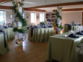 Wedding banquet at Bay Shore Inn.