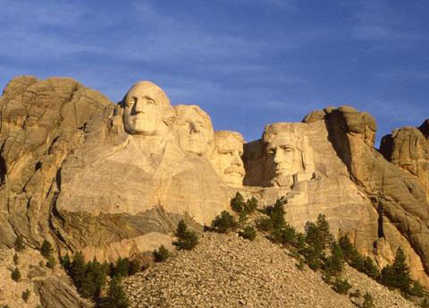 Mount Rushmore at Rushmore Express