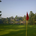 Golf Green View at High Hampton Inn