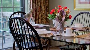 Vacation owner unit dining table at Tree Tops Villas and Fairway Villas  near Fernwood Resort.