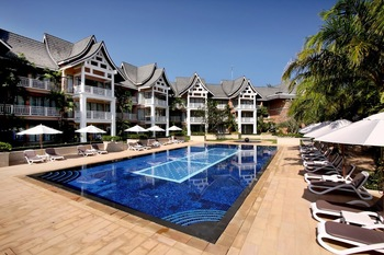 Outdoor pool at Allamanda Laguna Phuket.