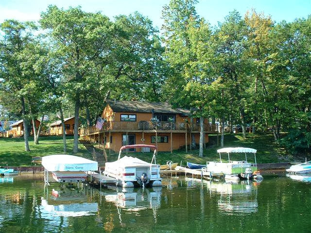 Clear lake resort west branch mi resort reviews for Fishing cabins in michigan