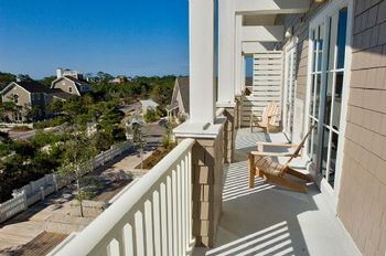 Rental Porch at WaterSound Vacation Rentals