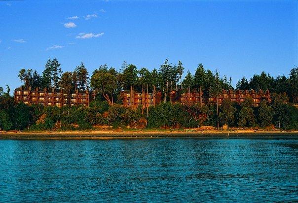 Resort view at Tigh-Na-Mara Resort.