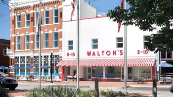 Walton's 5-10 Walmart Museum near South Walton Suites.