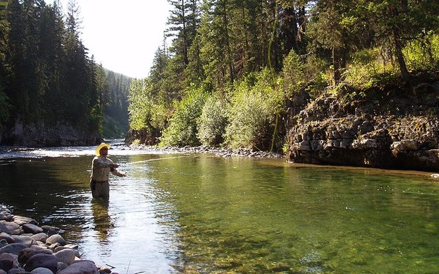 Gentry river ranch columbia falls mt resort reviews for Montana fishing lodges