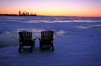 Winter at Taboo Resort.