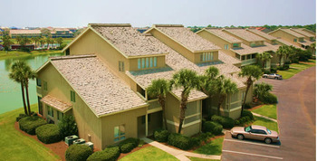 Vacation rentals view at Seascape Resort.