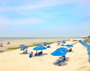 Beach at Ocean Edge Resort & Golf Club.