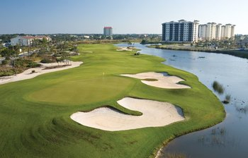 Golf course near Perdido Key Resort Management.
