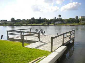 Private Dock at Copano Vacation Rentals Management