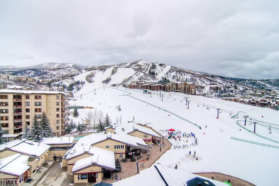 Ski slopes at Torian Plum Resort.