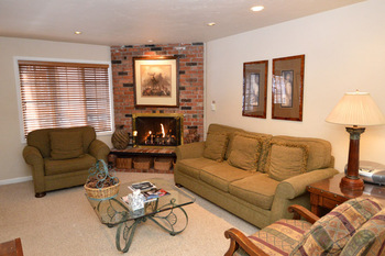Rental living room at Frias Properties of Aspen - Alpenblick #13.
