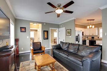 Rental living room at Perdido Key Resort Management.