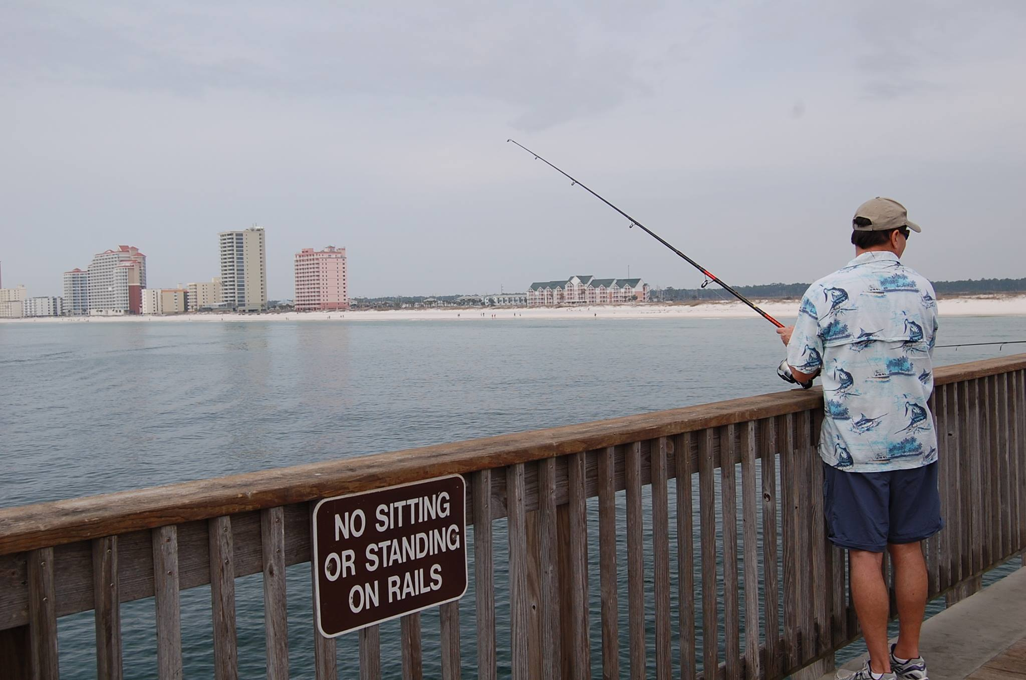 Fishing at Young's Suncoast.