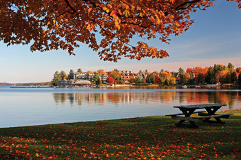 Fall colors at Taboo Resort.