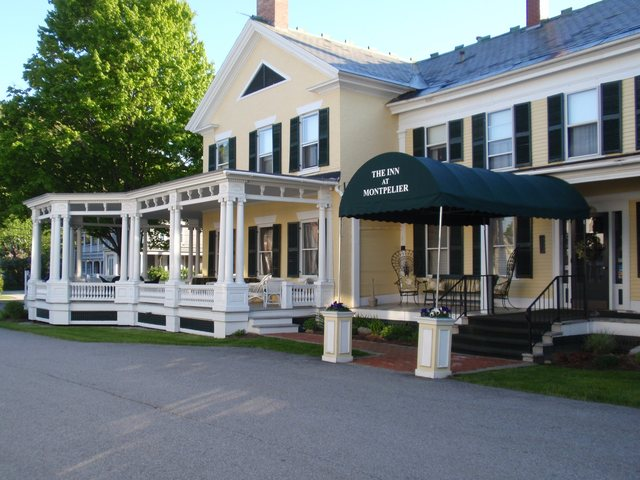 Exterior view of The Inn at Montpelier.