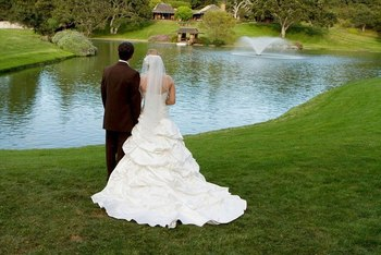 Wedding at Quail Lodge Resort.