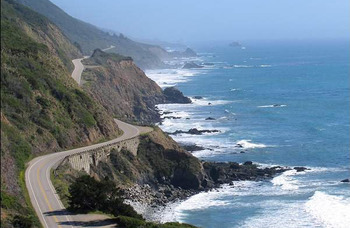 California coastline near Sonoma Coast Villa & Spa Resort.