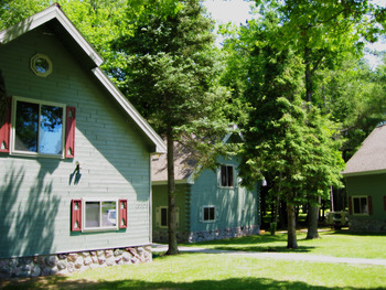 Cabin Exterior at Thunder Bay Resort